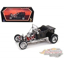 Ford 1923 T-Bucket Roadster - Black - 1/18 Road Signature - 92828BK