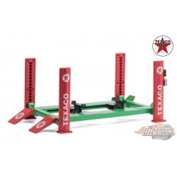 Four-Post Lift - Texaco -  Greenlight -  1/18, 13590