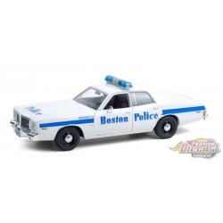 1976 Dodge Coronet - Boston Police Department - Boston, Massachusetts -  Greenlight 1/24 ,  85521   -  Passion Diecast