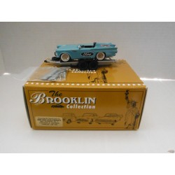 """1957 Ford T-Bird """"Speed Weeks Set"""" with trailer   - Brooklin 1/43  BRK. F-S 01"""