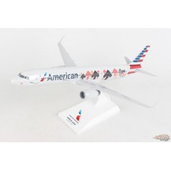 "American Airbus A321 ""Stand Up To Cancer""  Skymarks 1/150 - SKR1061- Passion Diecast"