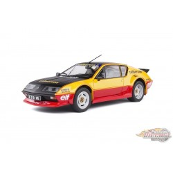 PACK ALPINE A310 GT CALBERSON EVOCATION - 1983 - Solido  1/18 S1801204