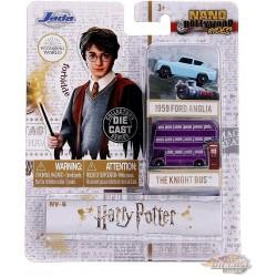 Harry Potter set of 2 Hollywood Rides -  Jada Nano - 31719  - Passion Diecast