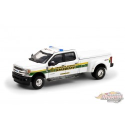 2019 Ford F-350 Dually -Broward County, Florida Sheriff's Office- Dually Drivers  6 - Greenlight 1-64 - 46060 C- Passion Diecast