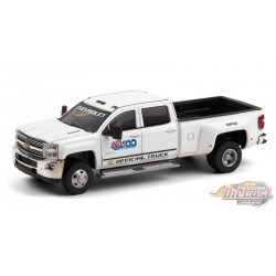 2017 Chevrolet Silverado 3500 Dually - 101 Running Indy 500 - Dually Drivers  6 - Greenlight 1-64 - 46060 A -  Passion Diecast