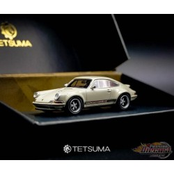 Porsche 964 Restomod - Ivory White - Tetsuma  1/64  - WCC19002 - Passion Diecast