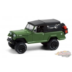 1968 Jeep Jeepster Commando with Soft Top and Off-Road Parts - All-Terrain Series 11- 1/64 Greenlight - 35190 A