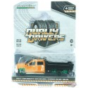 2017 Chevrolet Silverado 3500 Dually Dump Truck - Dually Drivers Series 4 - 1-64  GREENMACHINE - 46040 BGR