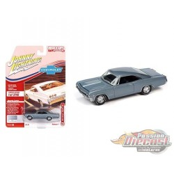 1965 Chevrolet Impala SS (Grey) - Muscle Cars USA 2021 Release 1 - Johnny Lightning 1:64 - JLSP140 A -  Passion Diecast