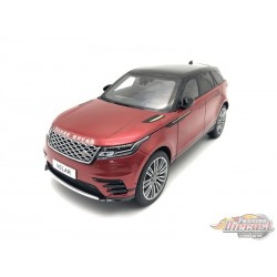 2018 Land Rover Range Rover Velar First Edition Red -  LCD model  1/18 - 18003 RD - Passion Diecast