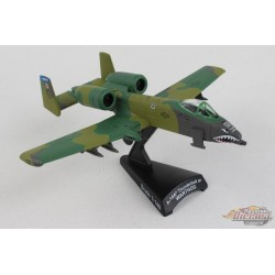 """Fairchild A-10 WARTHOG """"Flying Tigers"""" - POSTAGE STAMP 1/140 PS5375-4 Passion Diecast"""
