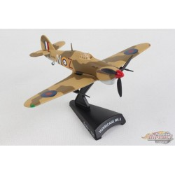 Hawker Hurricane RAF - 1/100 - POSTAGE STAMP PS5340-3 Passion diecast