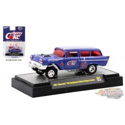Cherry Coke - 1957 Chevrolet 150 Handyman Station Wagon Gasser -  M2  1:64  - 52500-A07 C - Passion Diecast
