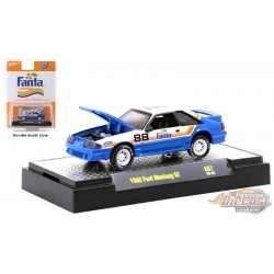 Fanta - 1988 Ford Mustang GT -  M2  1:64  - 52500-A07 B - Passion Diecast