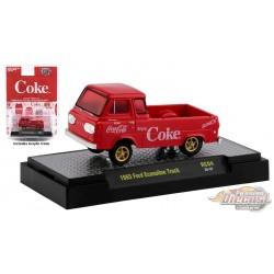 Coca-Cola - 1965 Ford Econoline Truck -  M2  1:64  - 52500-RC04 B - Passion Diecast