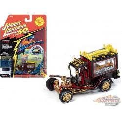 George Barris Ice Cream Truck, Daisy Bell  - Johnny Lightning 1:64 -  JLSP075 A  Passion  Diecast