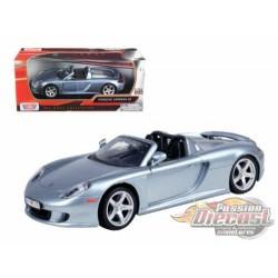 Porsche Carrera GT Silver  - Motormax 1/24 - 73305 Sil - Passion Diecast