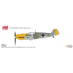 Messerschmitt Bf 109E Luftwaffe 6/JG 51, Josef Priller, St. Inglevert Airfield, France, Autumn 1940 - Hobby Master 1/48 HA8716 -