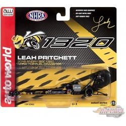 Angry Bee 1320 Top Fuel Dragster NHRA - Leah Pritchett 2018 - Auto World 1:64  - AW64005 B -  Passion Diecast