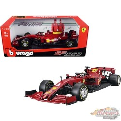 Ferrari Racing Formula 1 F1 SF1000 Tuscan GP 2020 n°5 Sebastian Vettel -  Bburago 1/18 -  16808 SV - Passion Diecast
