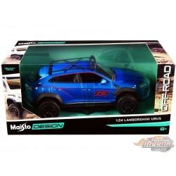 Lamborghini Urus Off-Road  in Bleu  - Maisto Design 1/24 - 32533