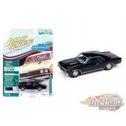 1967 Chevrolet Chevelle SS  Deepwater Blue Poly - Muscle Cars USA 2021 Release 1 - Johnny Lightning 1:64 - JLSP138 B Diecast