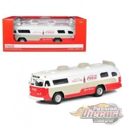 1960 Flxible Starliner Bus Coca-Cola - Motorcity Classics 1/64 - 464005 - Passion Diecast