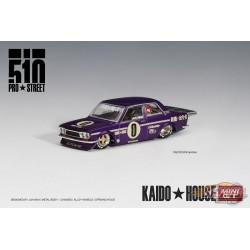 KaidoHouse Datsun 510 Pro Street OG Purple - Mini GT - HK Exclusives 1/64 - KHMG002 - Passion Diecast