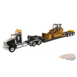 International HX520 Tractor with XL 120 HDG Lowboy Trailer and Cat 963K Track Loader - Diecast Master  1/50 -  85599