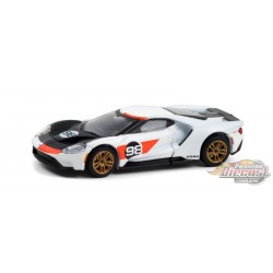 2021 Ford GT No.98 - Ford GT Heritage Edition - Hobby Exclusive - 1/64 Greenlight 30244