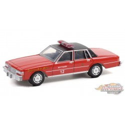 1990 Chevrolet Caprice - Chicago Fire Department - Hobby Exclusive - 1/64 Greenlight 30243