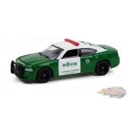 2008 Dodge Charger Police - Carabineros de Chile - Hobby Exclusive - 1/64 Greenlight - 30237