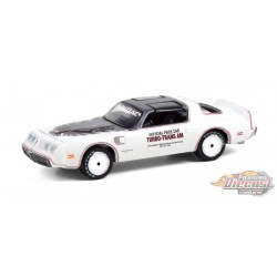 1980 Pontiac Firebird Turbo Trans Am - Indianapolis 500 Official Pace Car - Hobby Exclusive -1/64 Greenlight - 30226