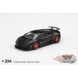 LB★WORKS Lamborghini Huracán Ver. 1 Black -  MINI GT 1:64 - MGT00234 - Passion Diecast