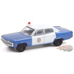 1972 AMC Matador - Colonial City Police - Hobby Exclusive - 1/64 Greenlight - 30219
