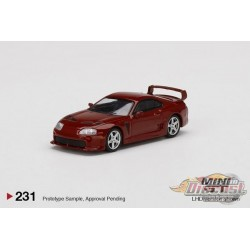 Toyota TRD 3000GT Red -  MINI GT 1:64 - Mijo Exclusive - MGT00231  -  Passion Diecast