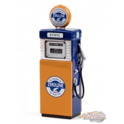 Zerolene  1951 Wayne 505  Gas Pump   Series 9 -  Greenlight  1/18 14090 B  Passion Diecast