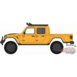 2020 Jeep Gladiator avec pièces hors route - All-Terrain  Series 12 - 1/64 Greenlight - 35210 D  - Passion Diecast