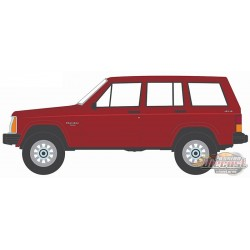 1985 Jeep Cherokee Pioneer - All-Terrain  Series 12 - 1/64 Greenlight - 35210 A - Passion Diecast