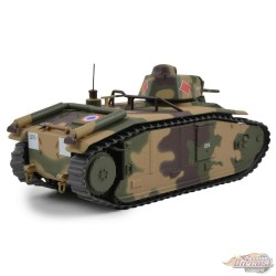 """French B-1 Heavy Tank """"Indochine"""", 3e Compagnie, 15e Batallion, France, 1940 / Motor City Classics 1:43 - 23183-44 - Passion Die"""