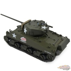 US M4A3 Sherman Tank Thunderbolt IV, 37th Tank Batt. 4th Arm. Div., Bastogne, Belgium, 1944 / Motor City Classics 1:43 23182-44