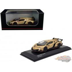 Lamborghini Veneno - Gold - Kyosho 1:64 - KS07040A1