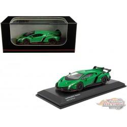 Lamborghini Veneno - Green - Kyosho 1:64 - KS07040A2
