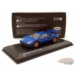 Lamborghini Countach LP500S - Blue - Kyosho 1:64 -  KS06930A2