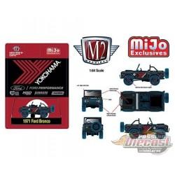 1971 Ford Bronco Off Road 4X4 - Yokohama Racing Exclusive - M2 Machine Mijo Exclusive 1:64 - 31500-MJS35