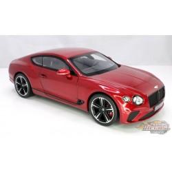 Bentley Continental GT 2018  Metallic  Red - Norev 1-18 - 182788  - Passion Diecast