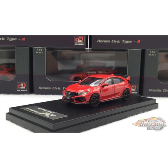 Honda Civic Type-R - Red - LCD Models 1:64 - 64003 RE