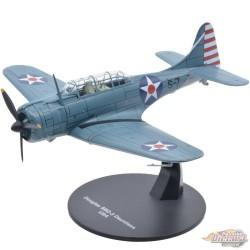 Douglass SBD-3 Dauntless US Navy 1942 -  Warbirds of WWII  1/72 - 27287-38 - Passion Diecast