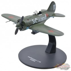 Polikarpov I-16 Russian Air Force 1941 - Warbirds of WWII - 1/72 - 27289-41 - Passion Diecast