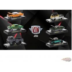 Auto Thentics Release 65  Assortment of 6 - M2 Machines 1-64 - 32500-65- Passion Diecast